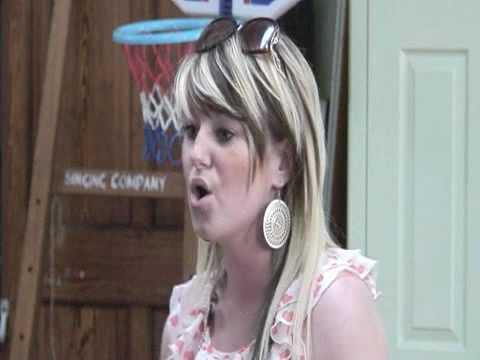 Jess Westcott auditions for Pop Star 2010