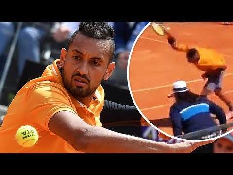 Kyrgios is right on Becker. Making a volley is no joke. So is doing a lob. It takes time and dedication...