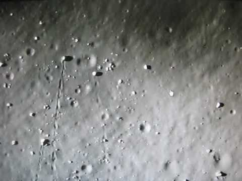 Strange Moving Objects Found On The Moon