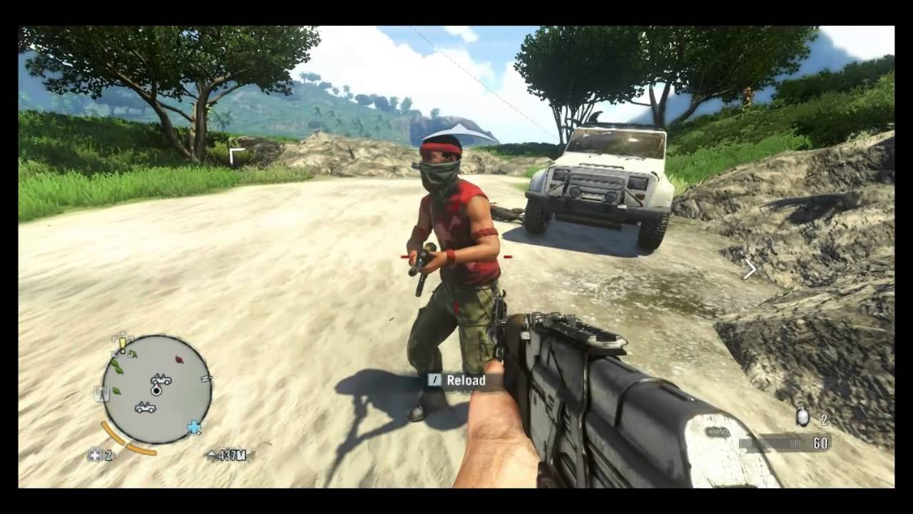 Far Cry 3 God Mode And Unlimited Ammo Cheat Youtube