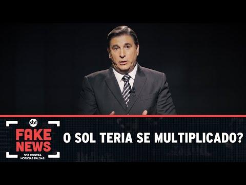 SBT Contra Notícias Falsas: O sol teria se multiplicado?