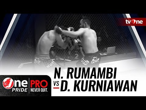 [HD] Nanditya Rumambi vs Dedi Kurniawan - One Pride Pro Never Quit #21