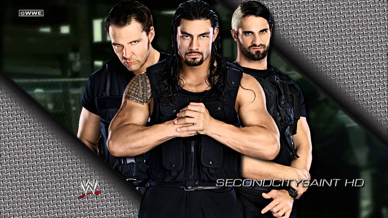 Anime Chibi Wallpaper Wwe Quot Special Op Quot The Shield 1st Theme Song Youtube