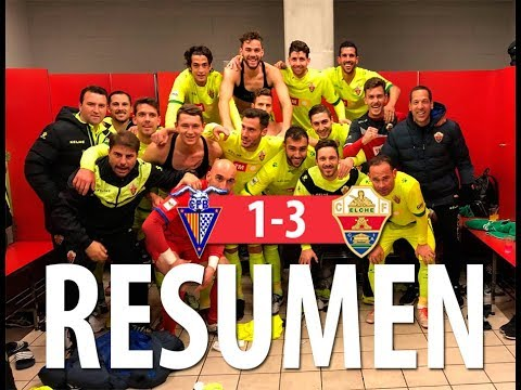 RESUMEN | CF Badalona 1-3 Elche CF | Segunda B G3, jornada 21