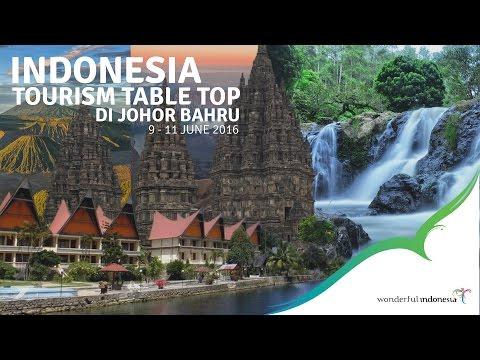 INDONESIA TOURISM TABLE TOP DI JOHOR BAHRU 9-11 JUNI 2016 | By Himalaya Motion