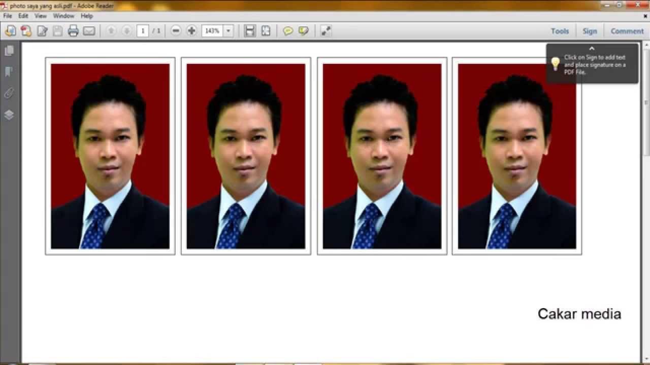 Cara Membuat Ukuran Pas Photo 4x6 Dan 3x4 Youtube