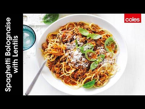 Veggie-Packed Spaghetti Bolognaise