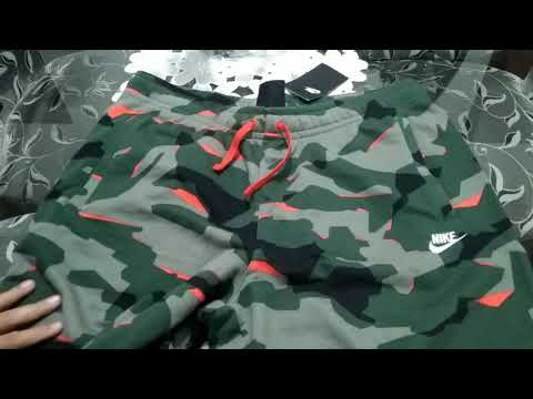 Unboxing Geral Bermuda Nike Standard Fit Camuflada
