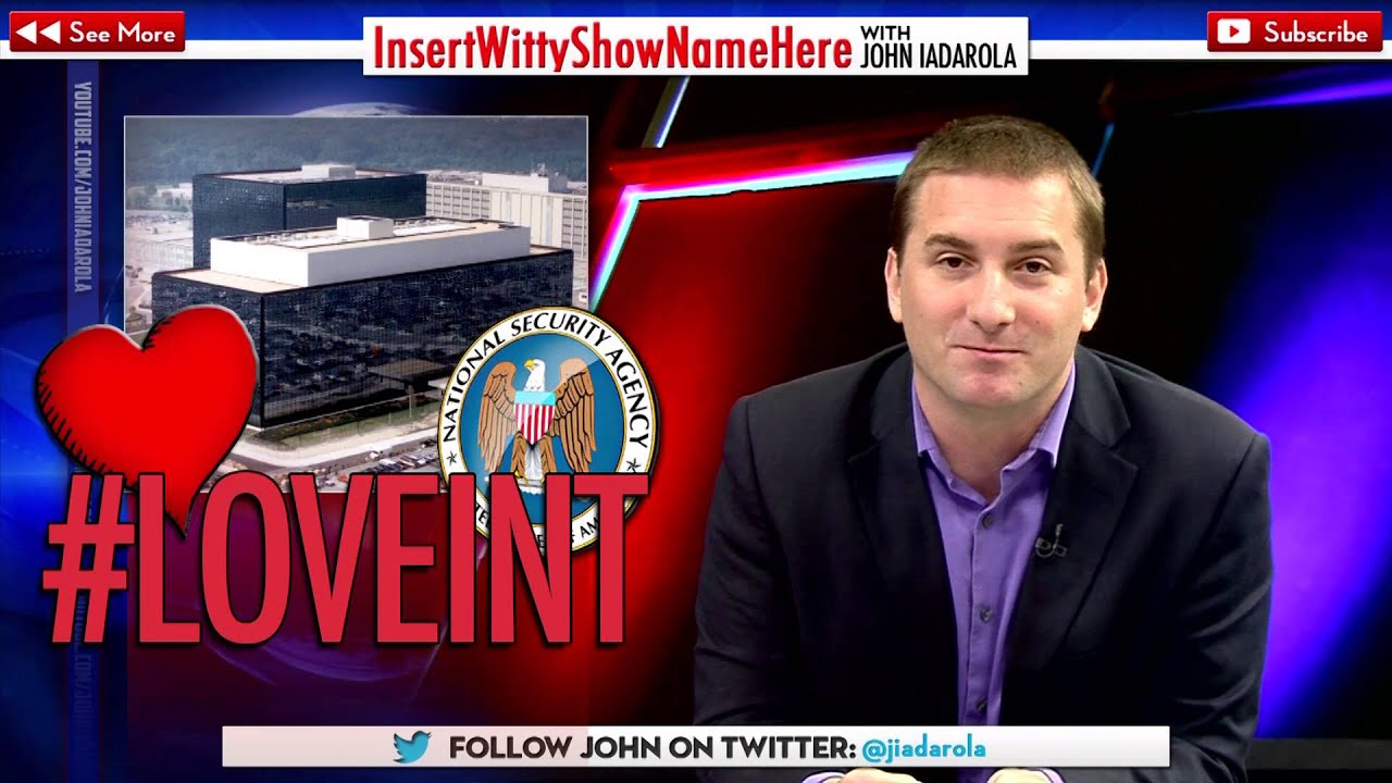 LOVEINT - NSA Admits to Spying on Love Interests - YouTube