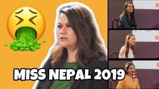 A MESSAGE TO MISS NEPAL 2019