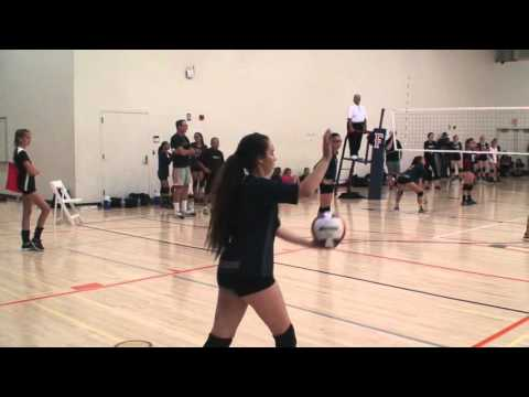 Offshore Volleyball Club 13-1 Girls vs Forza1 West 13-Asics Match 2