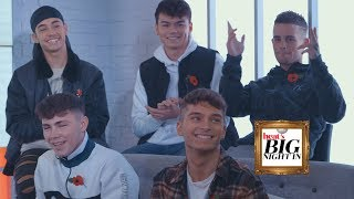 Jonas Blue and United Vibe ! heat's Big Night In with TalkTalk TV: EP 7