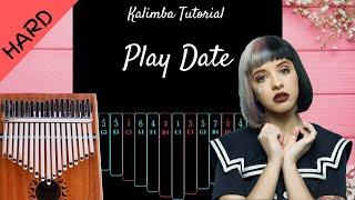 Play Date  - Melanie Martinez   Kalimba Tutorial (Hard) Resimi