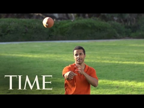 The Science Behind The Football Spiral | TIME