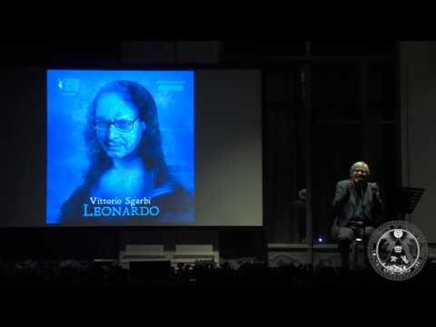 Il Leonardo Di Vittorio Sgarbi In Scena Al Grande Oriente