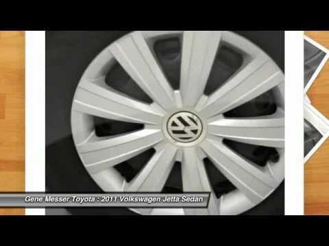 2011 Volkswagen Jetta Sedan At Gene Messer Toyota In Lubbock BM340311