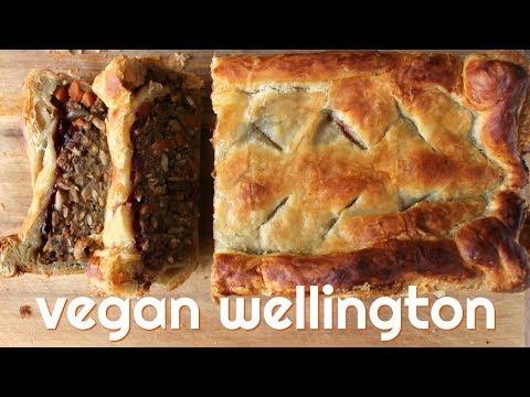 Vegan Wellington // Easy Lentil Roast for Christmas Dinner