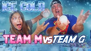 ICE COLD CHALLENGE!  ICE BALLS are ICE COLD!