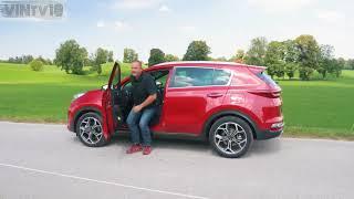 2019 Kia Sportage 2 0 CRDi GT Line   German Review