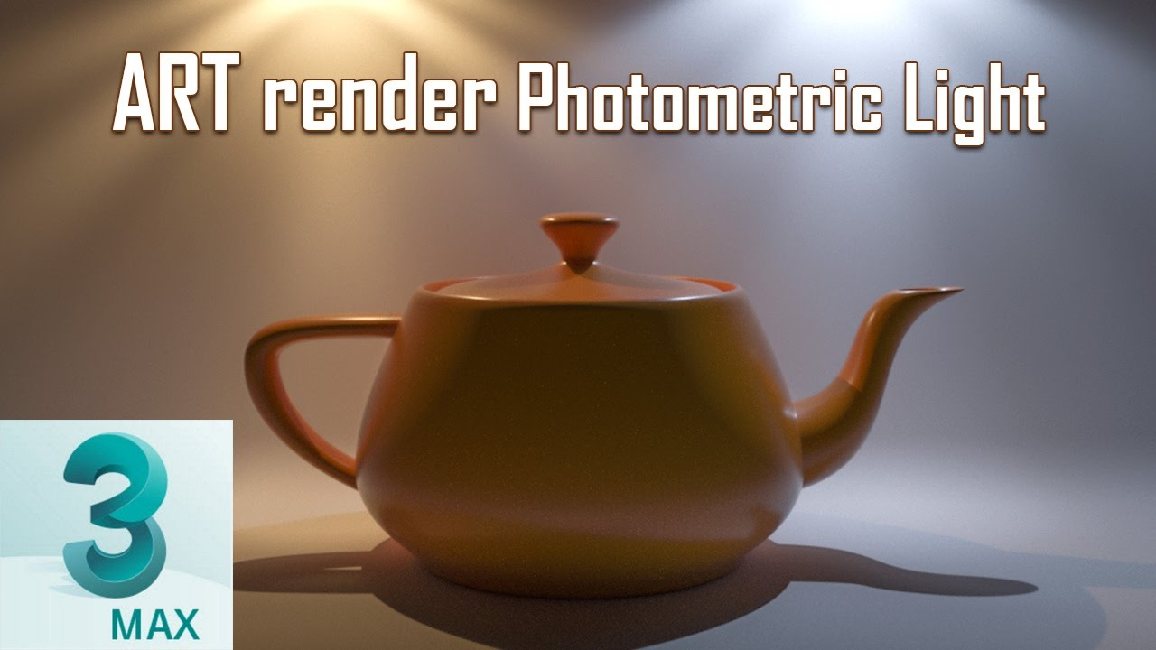 Line Drawing Render 3ds Max : Art render photometric lights ds max youtube