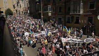 Митинг за отставку правительства и президента. Киев. 06.06.2015