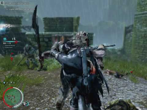 ShadowOfMordor- zlaya time to kill orcs2016 05 28 only dagger and sword