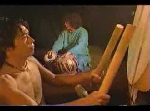 Zakir Hussain play with Japanese Drum