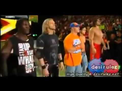Wwe Nexus Vs John Cena Team team wwe vs tea...