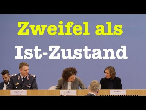 23. März 2018 - Komplette Bundespressekonferenz (RegPK)