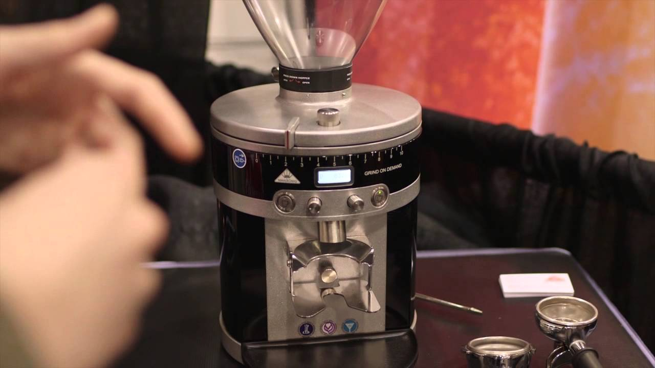 inside look mahlkonig k30 vario espresso grinder youtube. Black Bedroom Furniture Sets. Home Design Ideas
