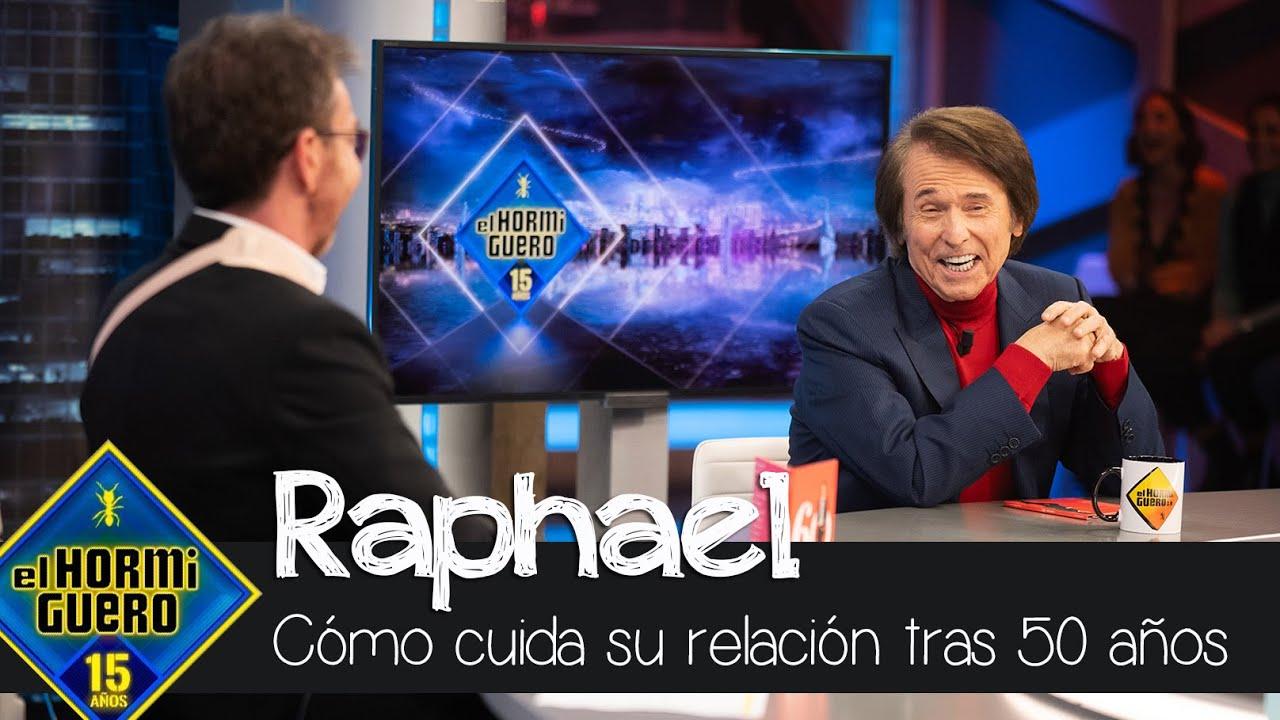 Raphael cómo cuida su relacion tras llevar 50 años al lado de su mujer, Natalia - El Hormiguero