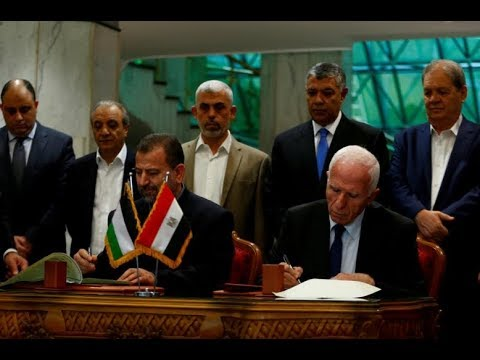 Rival Palestinian factions reach unity plan after 10-year split