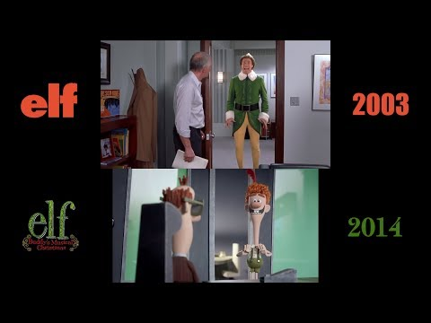 Elf (2003/2014): Side-by-Side Comparison