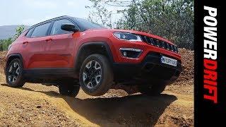 Jeep Compass Trailhawk : How far should a premium SUV go off road? : PowerDrift