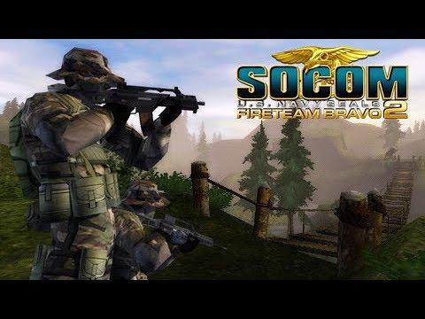 Socom Fireteam Bravo 2 PSVita/PSP Ep01 Mission 1 Gameplay