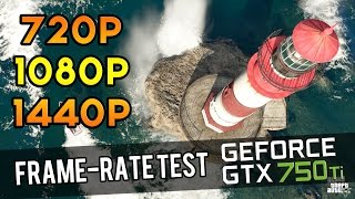 GTA V - 720p vs. 1080p vs. 1440p | GTX 750Ti | i3-4330 | Frame-Rate Test
