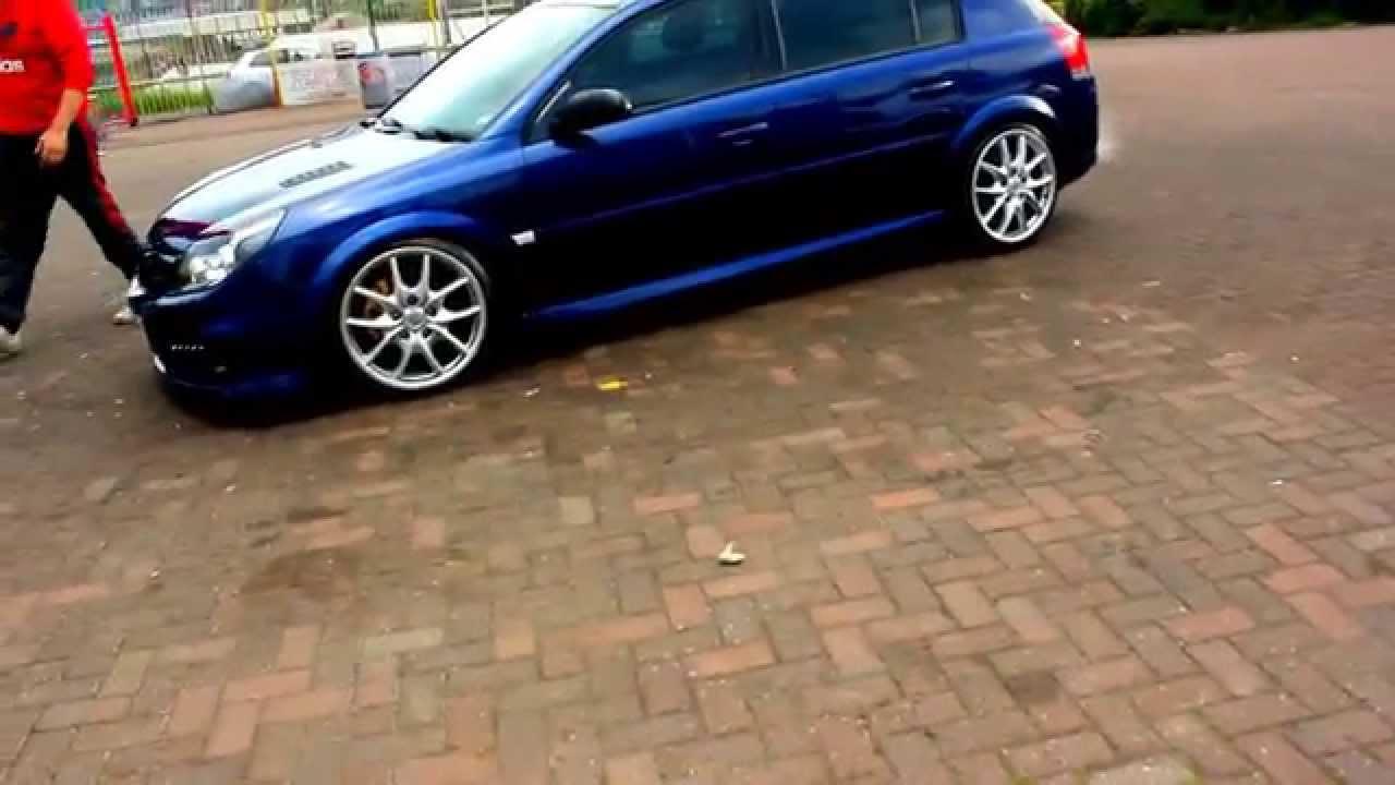 Signum Vxr 2 8t V6 3 Quot Turbo Back De Cat Exhaust Youtube