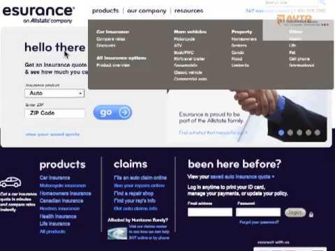 Esurance Quote New Esurance Reviews Complaints & Ratings  Get Free Quotes  Youtube