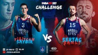 KIA ile #NBA2K20 Challenge: Yiğitcan Saybir vs. Sertaç Şanlı