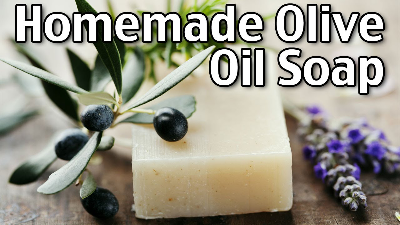 Making Homemade Luxury Olive Oil Soap You