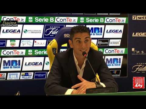 24/02/2018: Frosinone – Perugia 1 – 3, conferenza stampa Moreno Longo