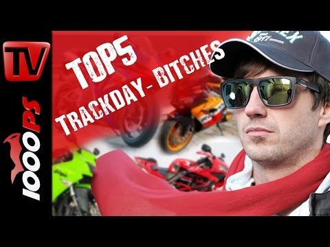 Top 5 -Trackday Bitches - Leistbare und schnelle Bikes für Trackday Umbauten bis maximal 6000 Euro
