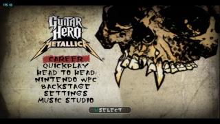 #FinDeSemanaRetro: Guitar Hero: Metallica (Emulador de Nintendo Wii) | #1 - EN DIRECTO!