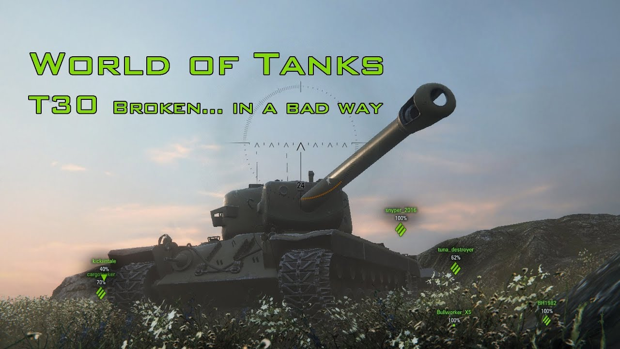 2713bf846 T30 rant/review - does it need a rebalance? - should I sell it or keep it?  - Newcomers' Forum - World of Tanks official forum