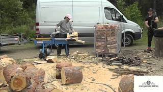 Gransfors Bruks large splitting axe VS woodsplitter
