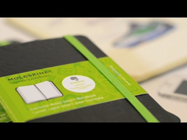 Evernote Smart Notebook By Moleskine Youtube