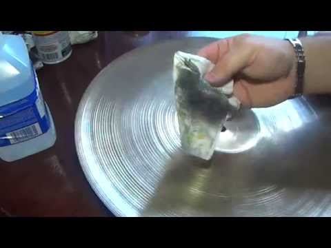 Drum Cymbal Cleaning Using Zildjian Cleaner & Mineral Spirits/ Paint Thinner