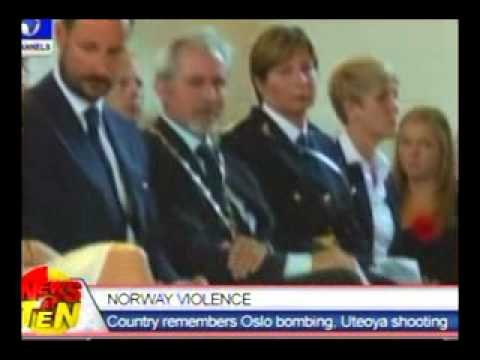 Norway Violence:Country remebers Oslo bombing,Uteoya shooting