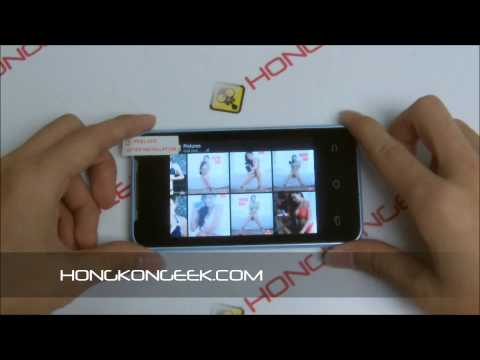 - UNBOXING AND TEST - CHINESE SMARTPHONE H-MOBILE F1 ANDROID 4.2