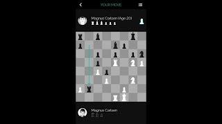 Repeat youtube video Magnus Carlsen vs. Himself at 20 on the Play Magnus Chess App
